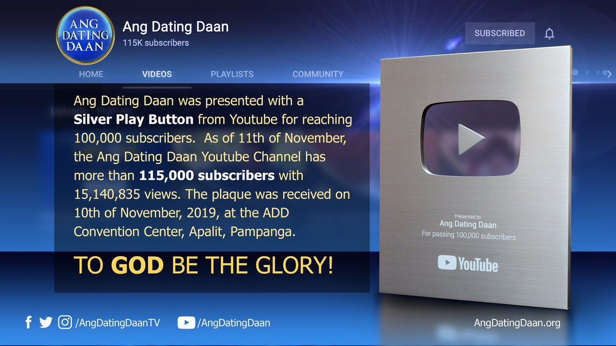 YouTube ang dating Daan Song dating tjänster Oshawa