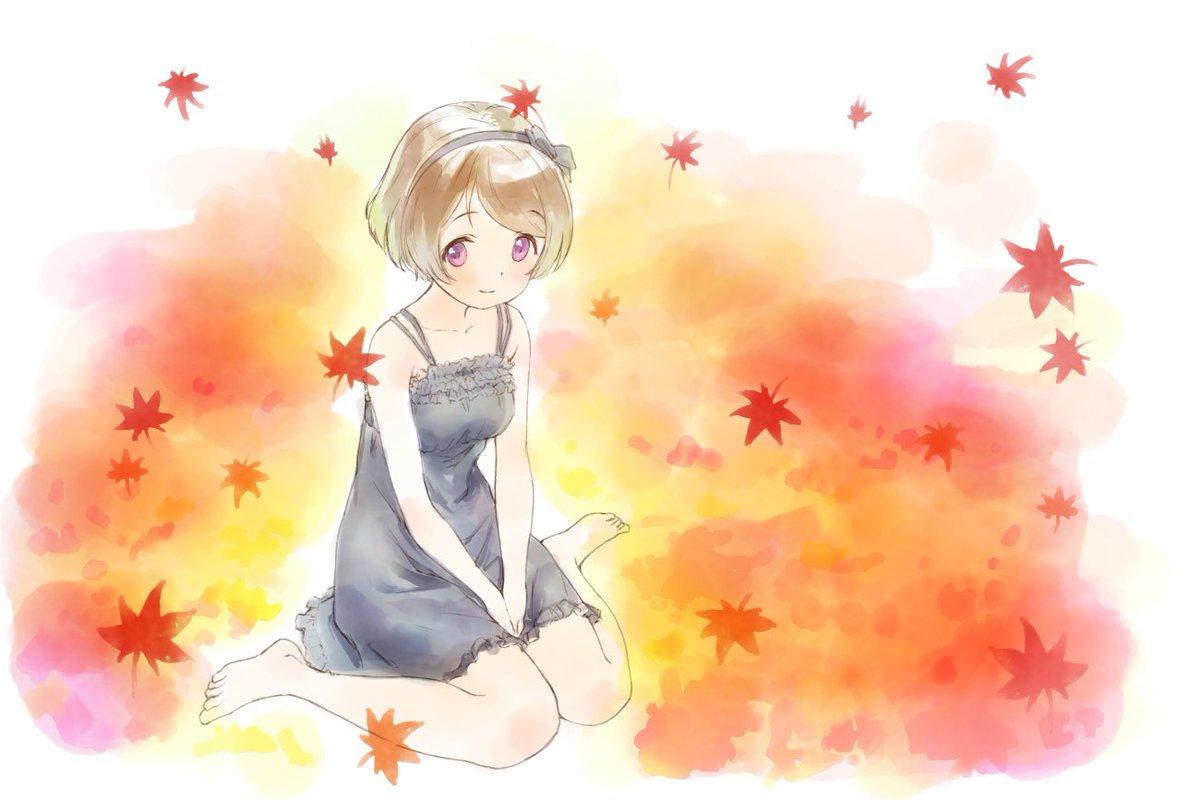 #火曜日かよちゃん紅葉と花陽ちゃん