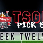 Image for the Tweet beginning: WEEK 12 PICK EM IS