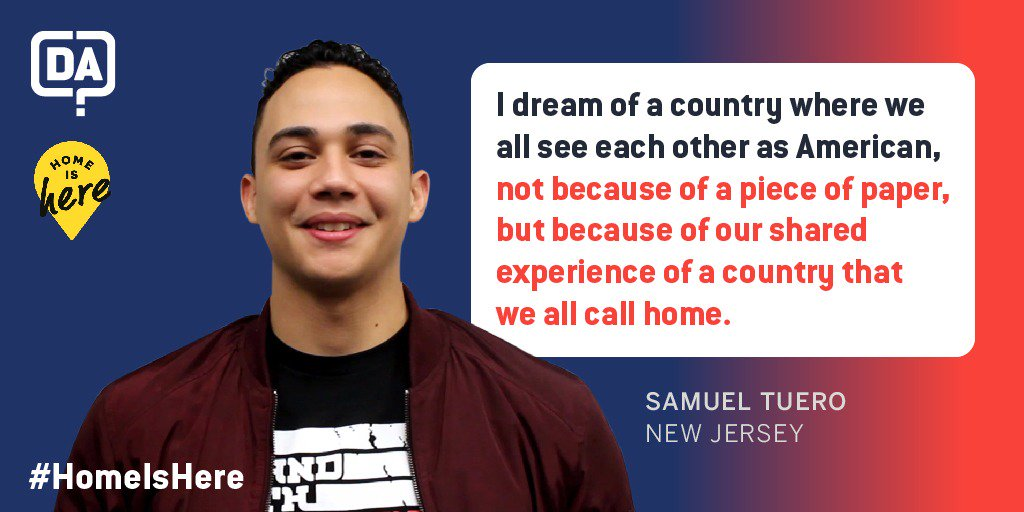 TOMORROW the Supreme Court will consider the future of DACA. It's more important now than ever to #DefendDACA and to share our immigration stories with the public. Share your immigration story with @DefineAmerican at: