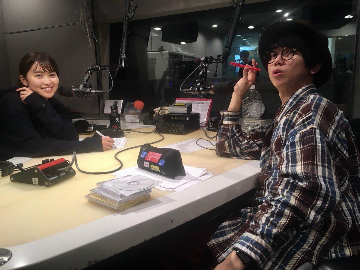 今夜は #三原勇希(@yuki_mihara)  #sumika 片岡健太(@sumikaken)にお付き合い有り難うございました🌈明日は 三原勇希 そして・・・‼️#オカモトコウキ (@Okamotokouki)がナビゲート📻⚡️明日も夜❾時からお付き合いを🌟 #jwave #sonar813