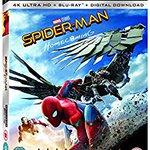 Image for the Tweet beginning: Spider-Man Homecoming 4k UHD Blu