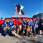 Image for the Tweet beginning: Team @k9sforwarriors ready for Jacksonville's