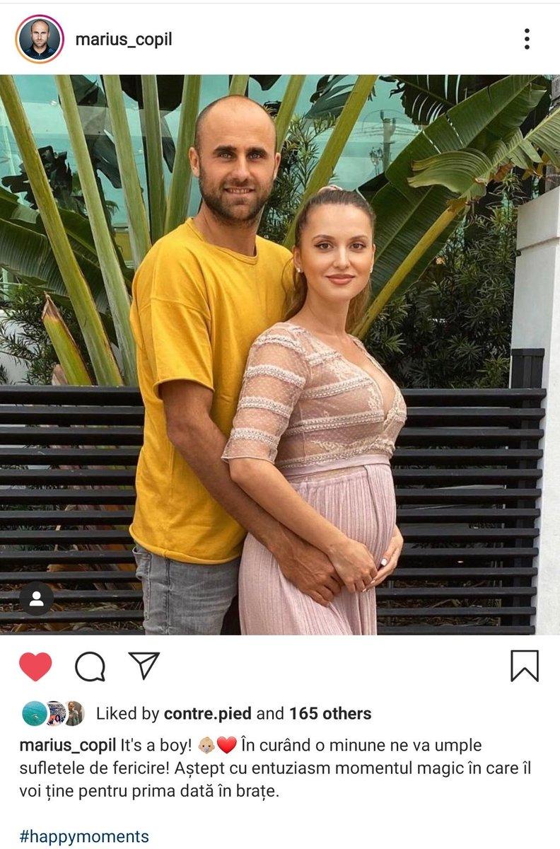 RT @popalorena: Awww, Marius Copil announced he's soon gonna be a dad! 🥰 https://t.co/gsq8ZCW3p1