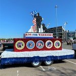 Image for the Tweet beginning: Spotted: Our float at the