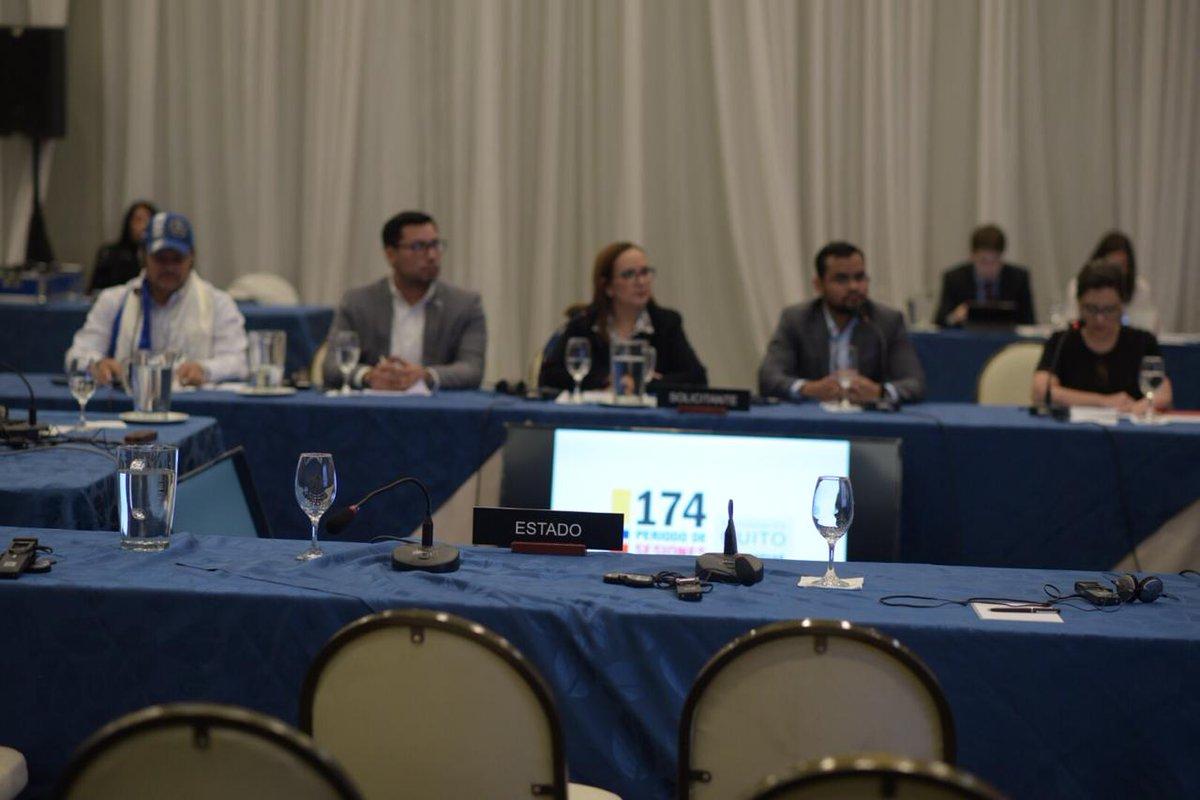 RT @CIDH: #CIDHAudiencias #Nicaragua: Ley de Amnistía, #CIDH lamentó la ausencia del Estado en la audiencia. https://t.co/eRvmiFBLqg