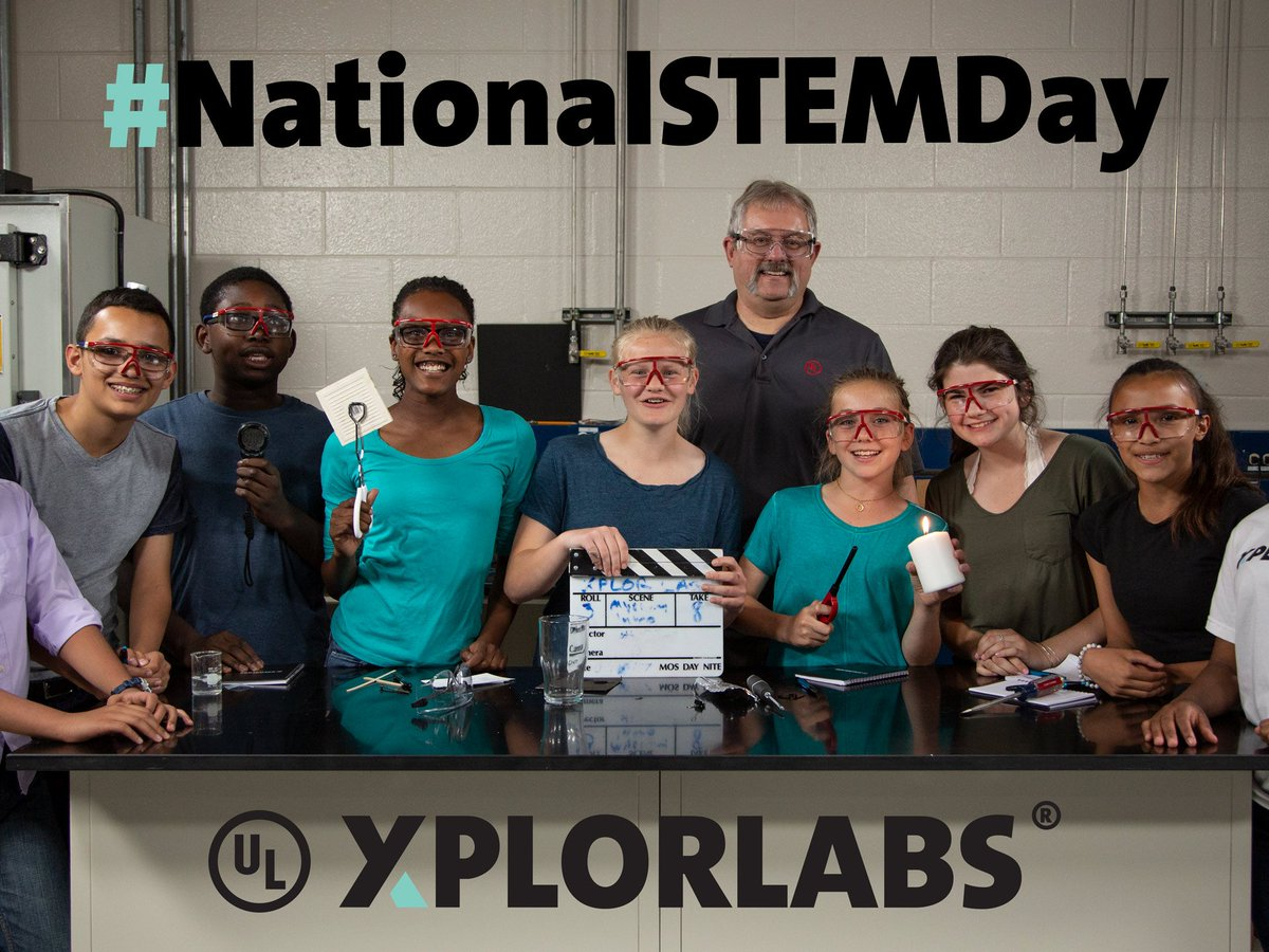 Nov. 8 was #NationalSTEMDay, and Xplorlabs wants to honor all our safety scientists who burn, blow-up, stress and crush middle-school-cool products! How do you problem solve for the future? <br>http://pic.twitter.com/vVRofhuNzH
