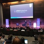Image for the Tweet beginning: Awesome weekend at @ethwaterloo2! Unbelievable