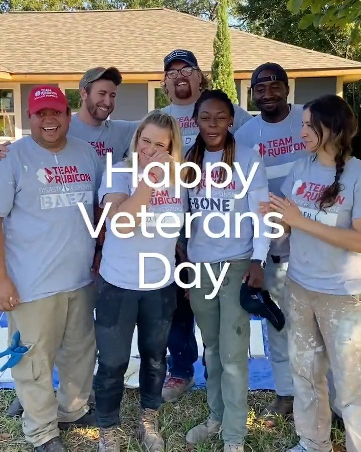 Team Rubicon mobilizes veterans to continue their service through disaster response. In Houston, a team of veteran volunteers are rebuilding homes destroyed by Hurricane Harvey with Team Rubicon: Houston Rebuild. #VeteransDay #MoreTogether
