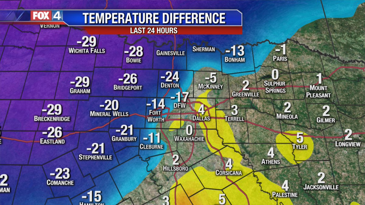 For some reason Told You So doesnt seem like it would be enough! #fox4weather #txwx #dfwwx