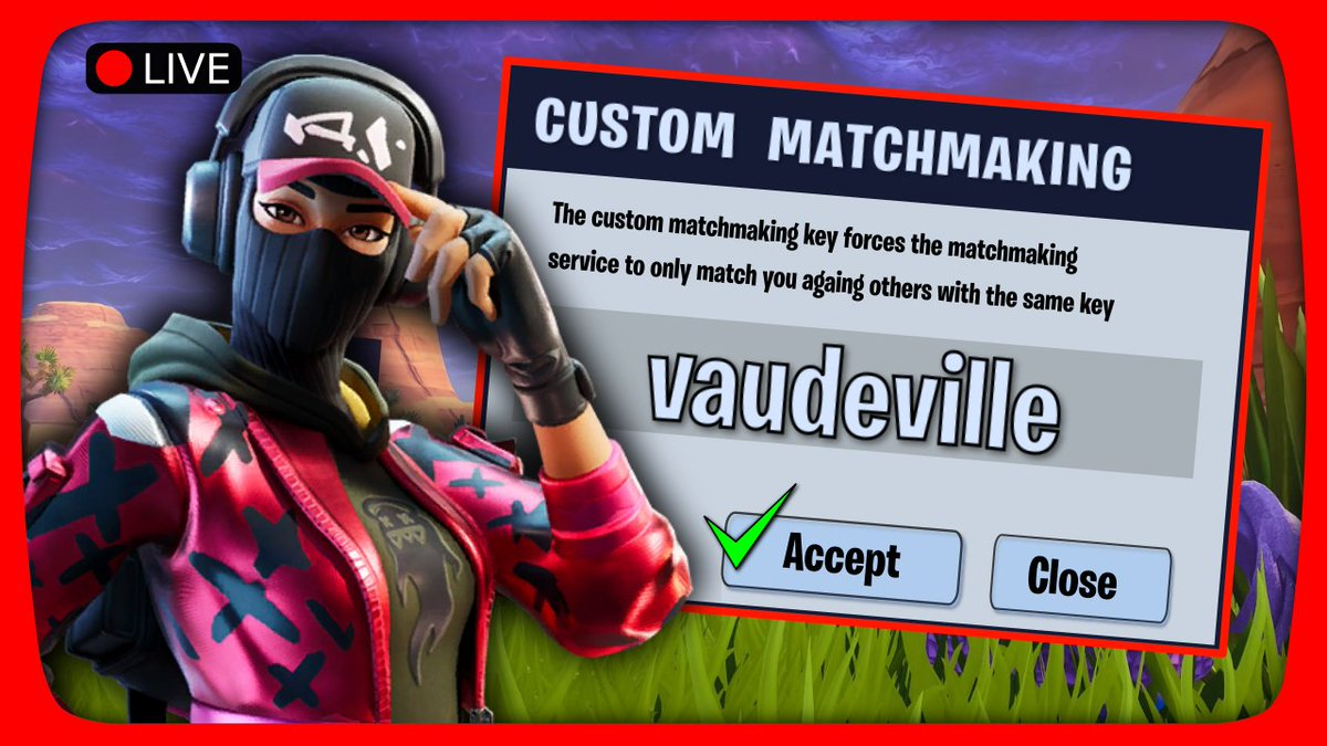 DUOS & (OCE) CUSTOM MATCHMAKING [PC, PS4, XBOX, MOBILE, SWITCH] |  Fortnite Live https://www.youtube.com/watch?v=7DbMjUIhoG8 …  #fortnite #fortnitebr #fortnitebattleroyale #fortnitepc #fortniteps4 #fornitexbox #fortnitemobile #fortniteswitch #fortniteshop #fortnitecustoms #oceania #YoutubeLivepic.twitter.com/xYZ9CCBeVm