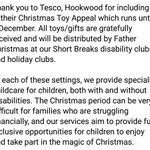 Image for the Tweet beginning: Thank you, @Tesco at Hookwood,
