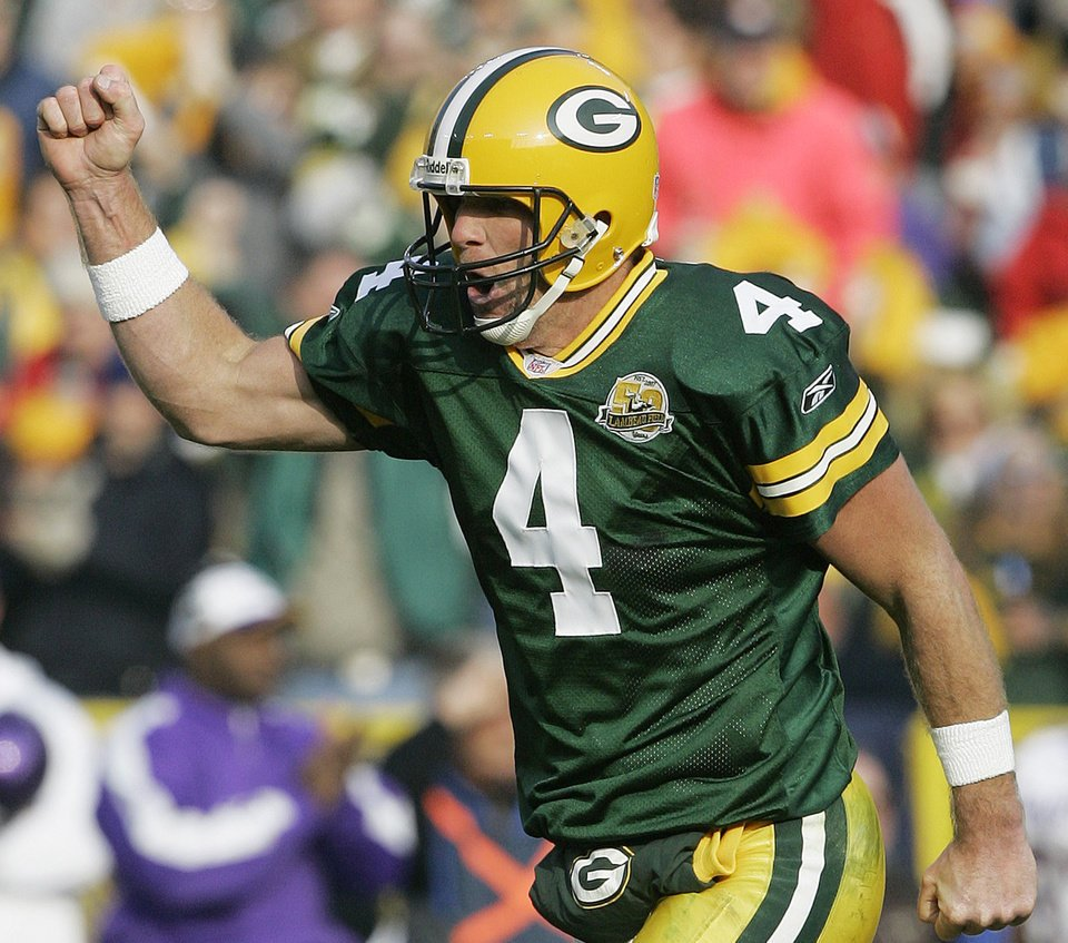 Today in 2007: Packers earn their first (and to date, only) shutout win over the Vikings with a 34-0 rout at Lambeau Field. Brett Favre throws for 351 yards and 3 TDs on 33-of-46 passing, while Ryan Grant churns out 119 yards and a TD on 25 carries.