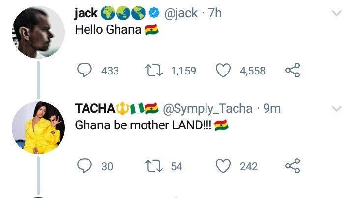 My international ship! JACHA  🔥 Don't dare compare us to them again 😂  #TachaPoolParty #TachaHomecoming #LetterToTacha