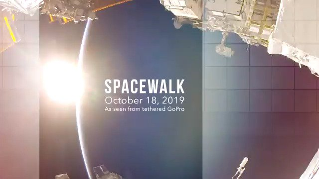 The world's reaction was as humbling as its views. Inspired that a day doing our job could mean the honor of conducting the first #AllWomanSpacewalk, here is a glimpse of that moment and what it meant to us. wapo.st/33NBN5X