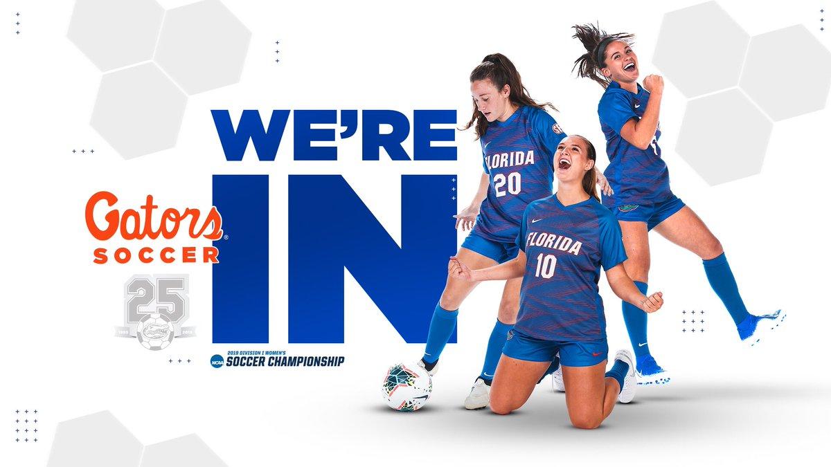 The Gators are @NCAA tournament bound! 🐊⚽️ will host USF on Friday, November 15 at Dizney Stadium. #GoGators