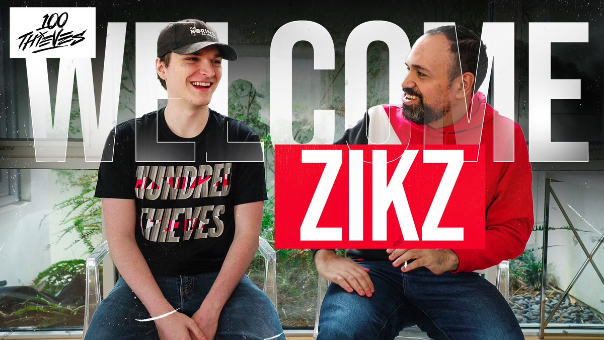 Welcome @Zikzlol, our new League of Legends Head Coach! Zikz is one of the most well-respected coaches in the scene, earning 2x LCS Championship titles & a 2nd place at MSI. Were so excited to bring his experience to 100 Thieves & look forward to building 2020 with him! #100T