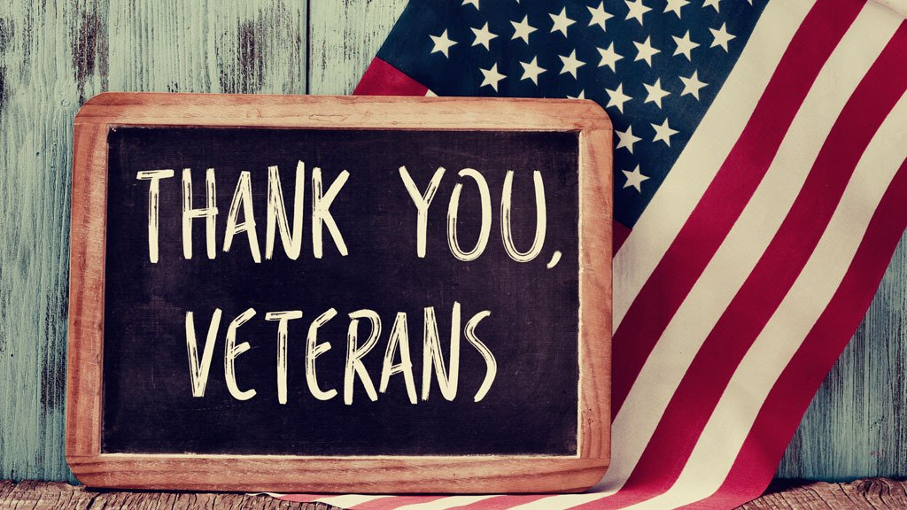 On this Veterans Day, we would like to thank those who sacrificed and served our country -- we appreciate you today and every day!  #VeteransDay #veterans #military #thankyouforyourservice #thankyou #homeofthefreebecauseofthebrave #veterandiscount #militarydiscount