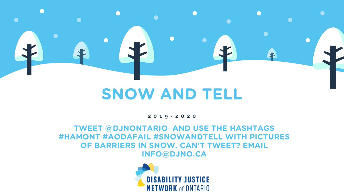 Disability Justice Network Of Ontario Djnontario Twitter