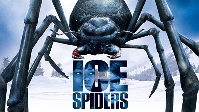 11/11 watch & tweet Ice Spiders @ 10pm est streaming for free on Prime and use the hashtag #FrightClub to tweet along!