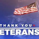 Image for the Tweet beginning: THANK YOU to the veterans