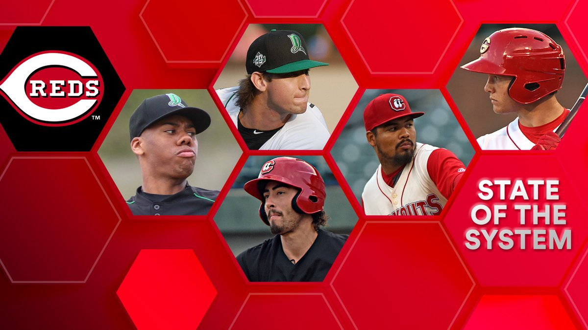 The #Reds last winning season was in 2013. The decline that followed led to a rebuild, which has shown signs of success, as the farm has been among #MLBs Top 10 in 4 of our past 6 rankings. @JonathanMayo provides an update on the @Reds system: atmlb.com/33yWK4e