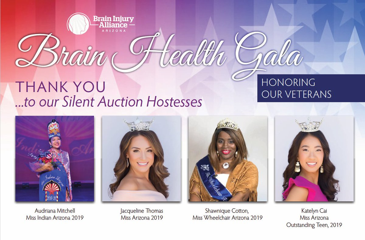 RT @BIAAZ1: We are so excited for our #BrainHealthGala on Saturday! Thank you to our #SilentAuction Hostesses https://t.co/GOGDTzZqg5