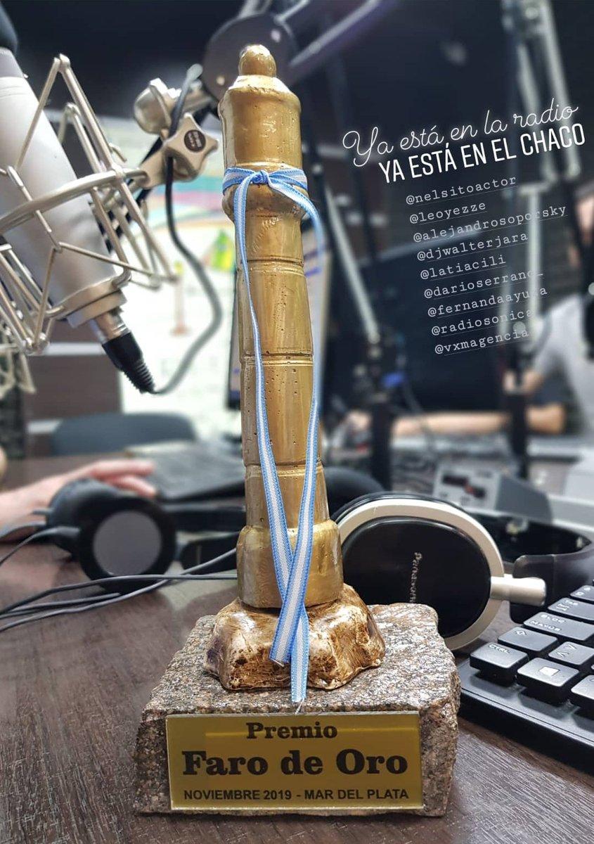 """🏆Ya lo tenemos en la radio y en el Chaco 💪😉 📻 No Será Mucho Dúplex 🏅Terna """"Mejor #programa #humorístico en #radio"""" 🎖#PremiosFarodeOro #MarDelPlata #MDQ 🖖 Gracias a todos los #radioescuchas, auspiciantes que hacen posible ésta labor y a la familia que nos hace el aguante!"""