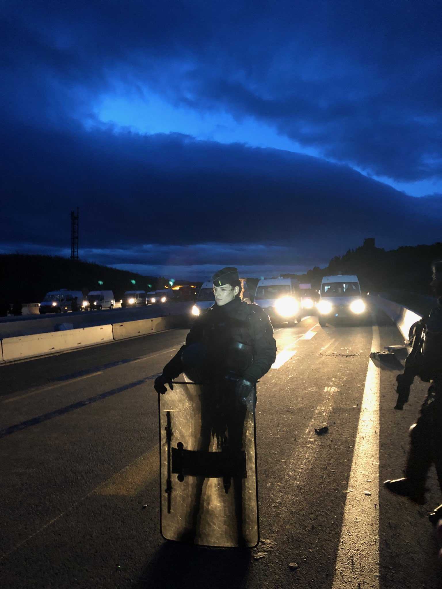 blocage frontiere espagnole
