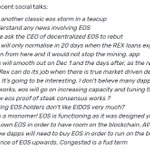 Image for the Tweet beginning: $EOS @block_one_ #EOS was sent