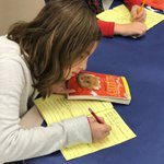 Image for the Tweet beginning: Grade 4 book tasting today...