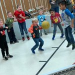 Image for the Tweet beginning: Gaga Ball... intensity and excitement!