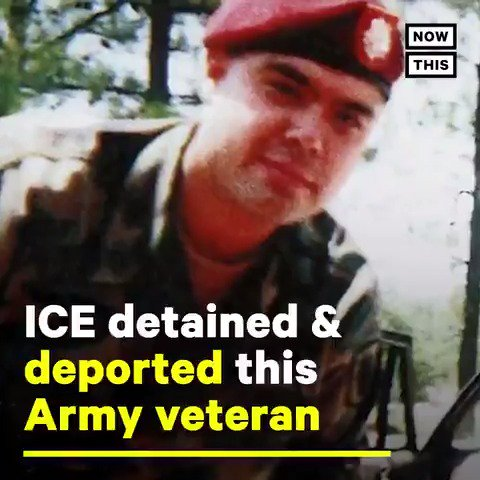 This U.S. combat veteran was detained by ICE and deported under Trump — watch the emotional moment he became an American citizen #VeteransDay