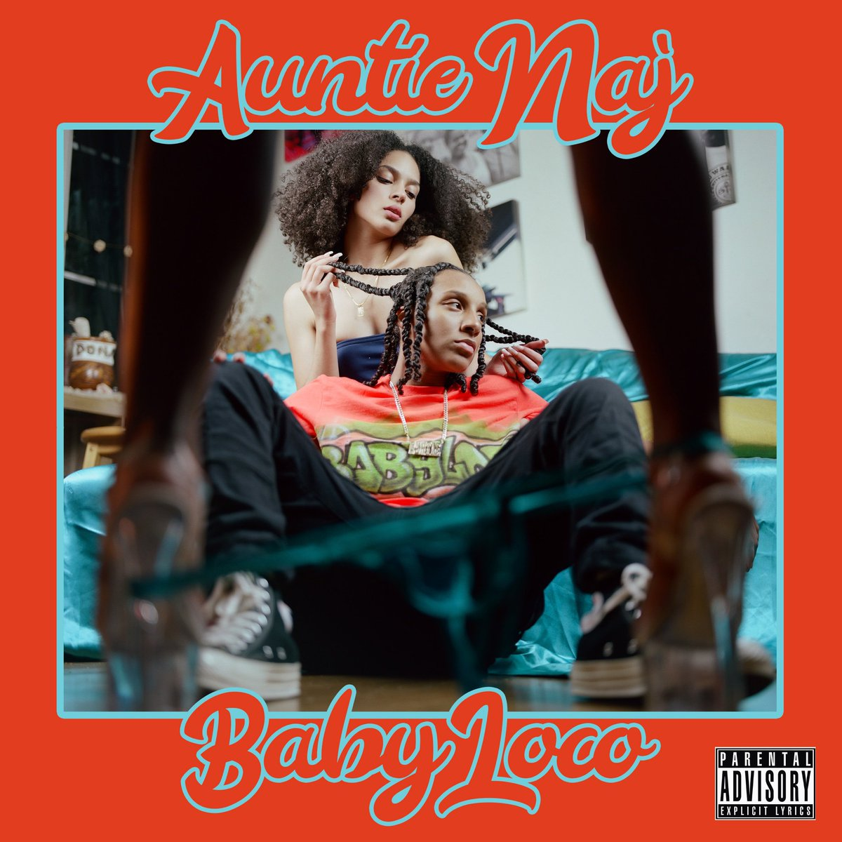 This Friday my crazy ass is dropping my EP Baby Loco 😜. Cover shot by @KumoShai.