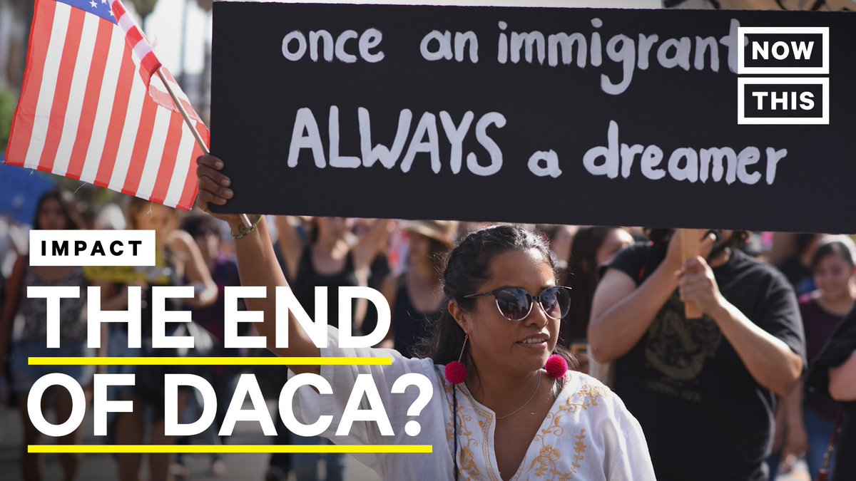 An entire generation of immigrants who came to the U.S. early in life have been able to grow up here, thanks to Obama's DACA program. This week, the Supreme Court is hearing cases that could change the fate of the nearly 1 million Dreamers (In partnership with @emcollective)