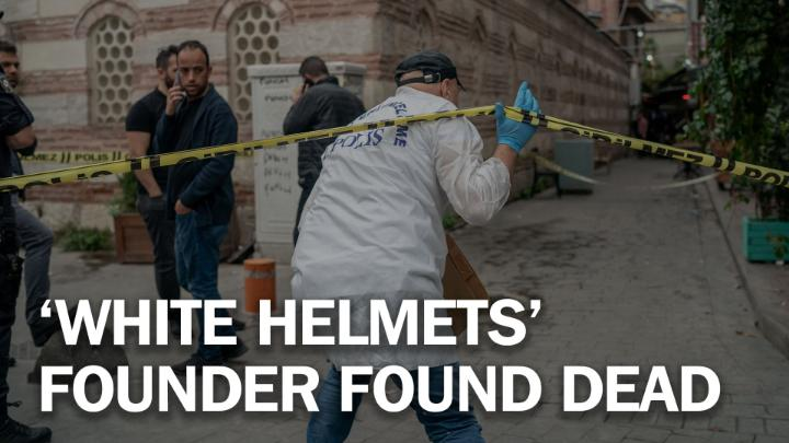 """James Le Mesurier, British founder of the """"White Helmets"""" in Syria, found dead in Istanbul https://ti.me/2Q8O1lC"""