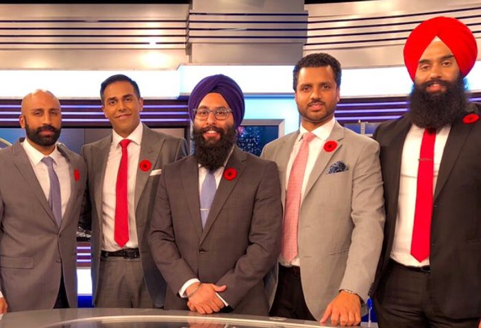 Doug Saunders On Twitter A Good Day For Canadian Values To Prevail Here Are Canada S Most Gifted Hockey Commentators The Stars Of Hockey Night In Canada Punjabi Language Version Marking Remembrance Day Https T Co Unlcj437n1