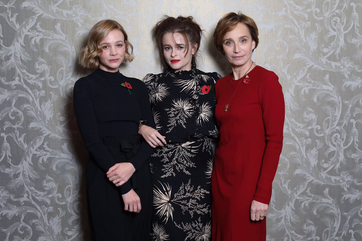 Behind the scenes at the BAFTA screening of Channel 4's new four part series My Grandparents' War starts on Wed 27 Nov on C4. Helena Bonham Carter, Mark Rylance, Kristin Scott Thomas and Carey Mulligan explore their grandparents' extraordinary stories from World War Two. #MGW