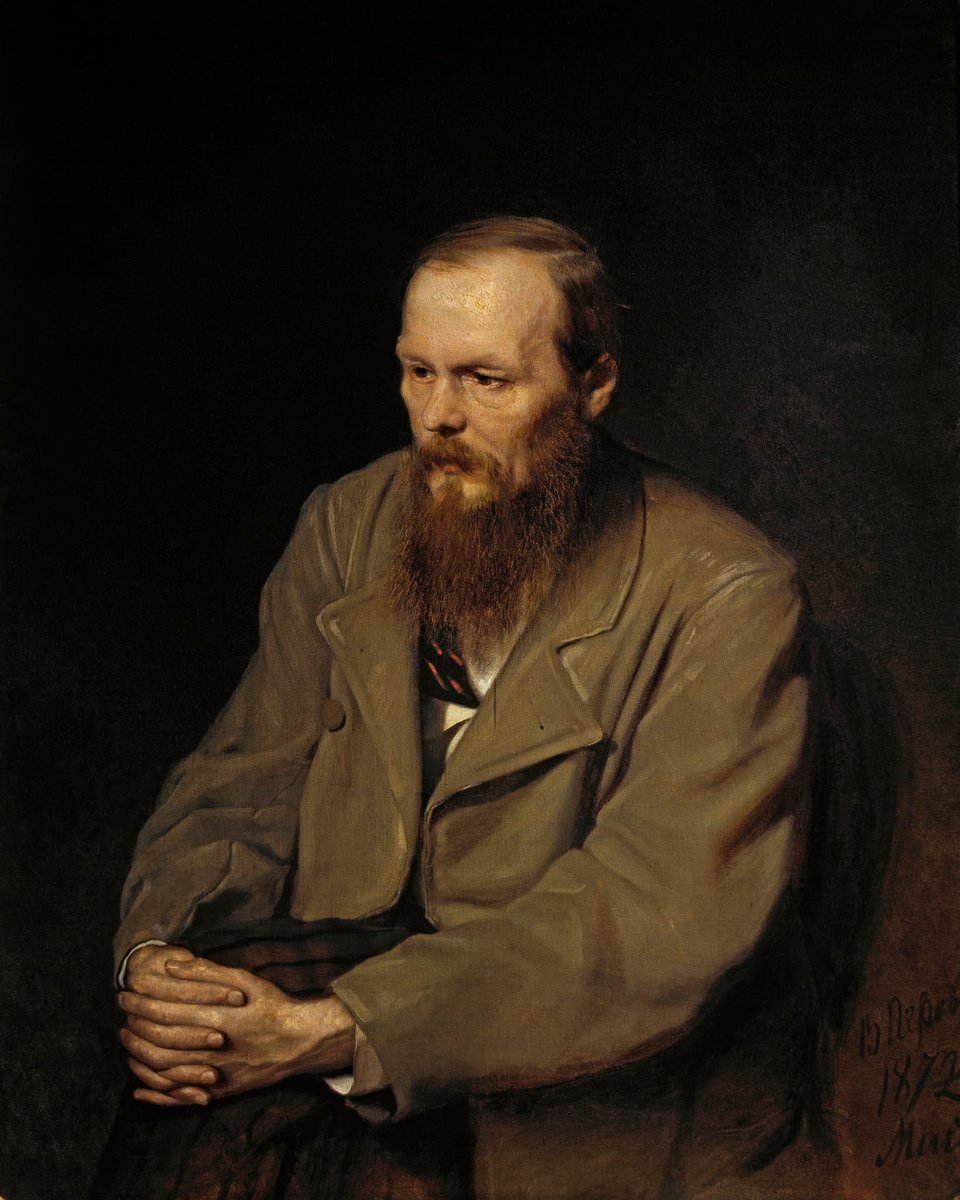 Happy 189th birthday to Dostoevsky! My world has not been the same since encountering you ❤️