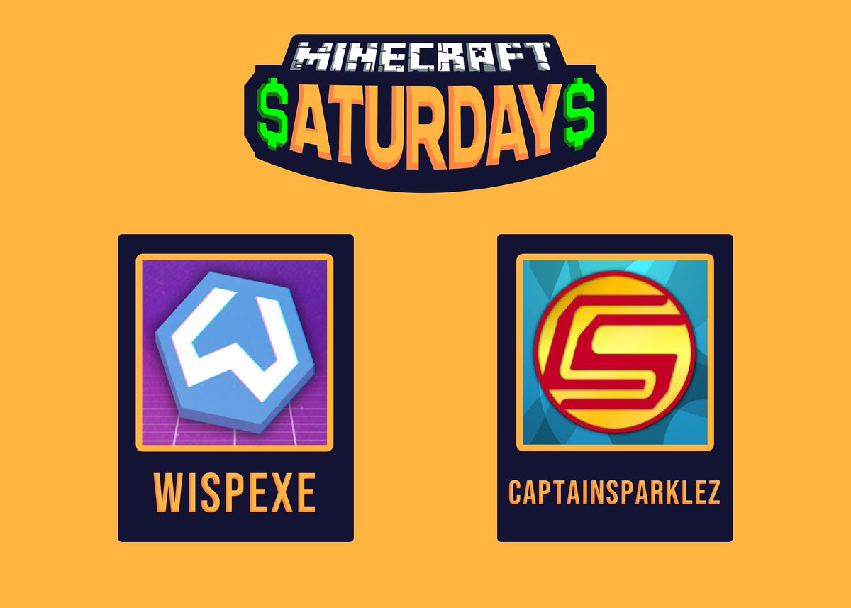 Minecraft Saturdays On Twitter Introducing Team 5 For