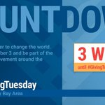 Image for the Tweet beginning: 3 weeks until #GivingTuesday! #LiveUnited