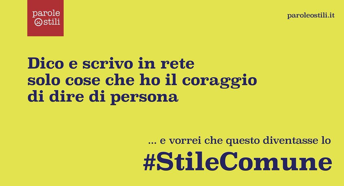 #StileComune