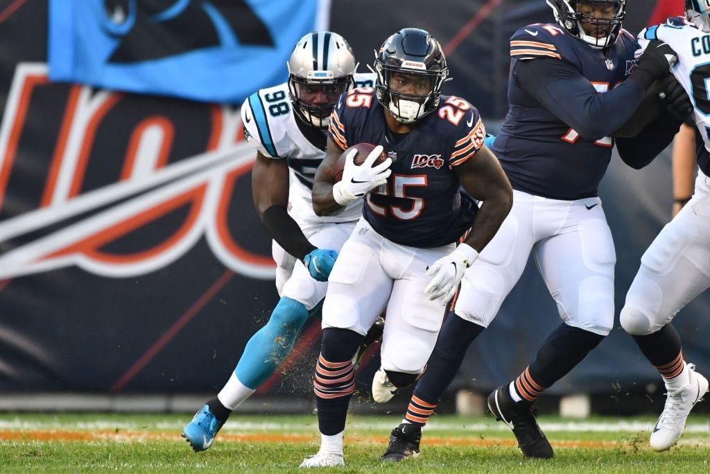 Panthers Claim RB Mike DavisOff Waivers FromBears http://bit.ly/36WuASY