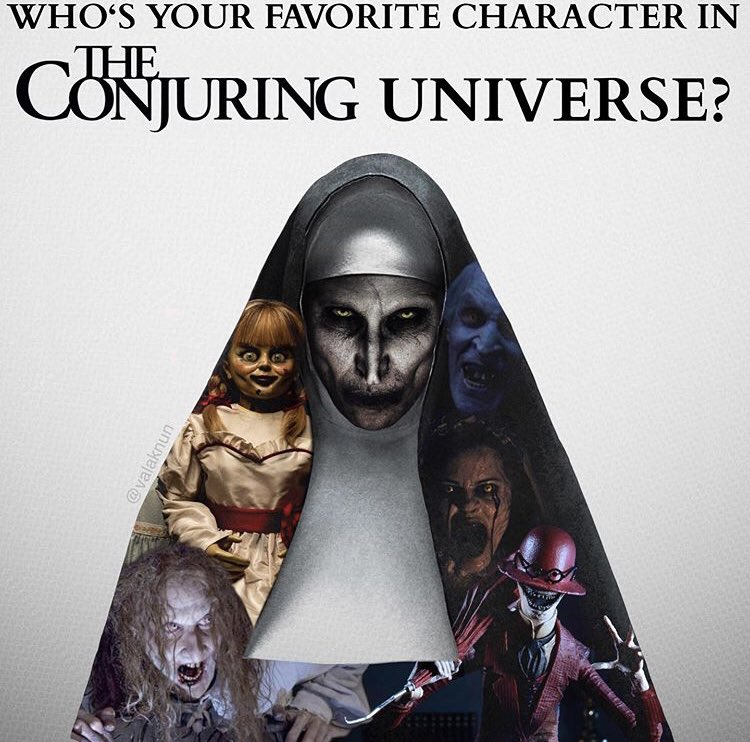 It's time! Tell us who's your favorite character from the #conjuringuniverse. Photo by #valaknun