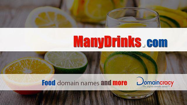 http://ManyDrinks.com ❤ Great #domainname #brandname #businessname #startup #website #domain #many #drinks