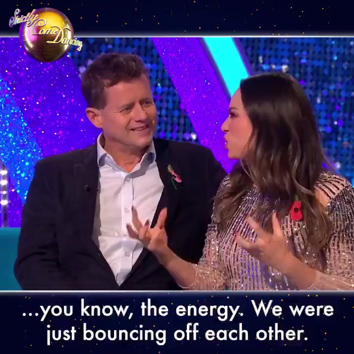 Every Monday he turned up, he smiled at me and he said, were doing it again! 😍We will miss this positive #Strictly partnership at #ItTakesTwo @mikebreakfast and @Mrs_katjones!
