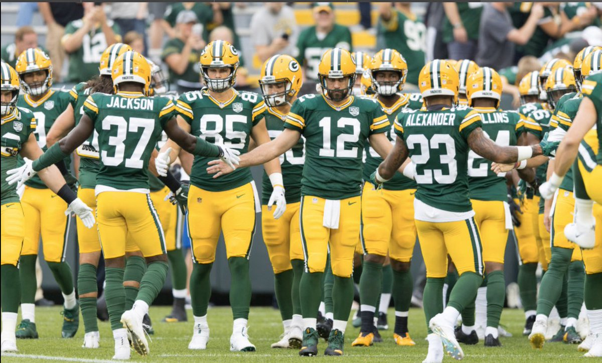 With the .@packers going into #byeweek with a big win against the .@Panthers they turn there record to 8-2 but with a big game next week do you think they will be able to take down the undefeated .@49ers with leading TE @gkittle46