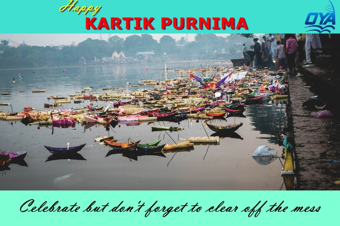 Happy Kartik Purnima ! #kartikpurnima #boitabandhana #Baliyatra #BaliJatra   Celebrate but don't forget to clear off the mess, our #river deserve much #Love and #Care. They need to be protected and cleaned.  @MYBBSR @BBSRBuzz