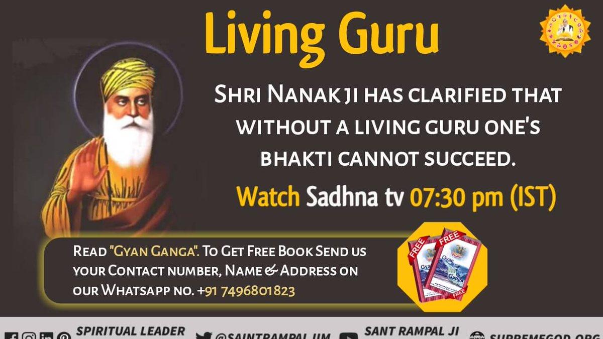 #GuruNanakJayanti #gurupurabNANAKDEVJI is one of them who met supreme god... Nanak dev ji clarified that without A living guru no one can do true devotion or attain salvation.. #WednesdayThoughts