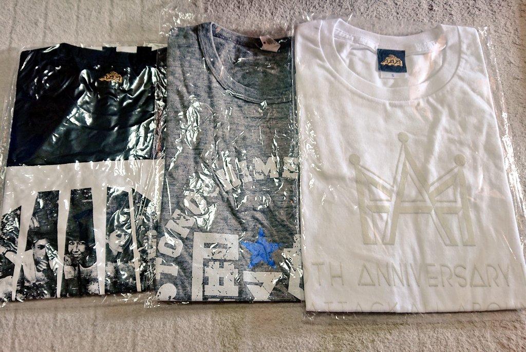 RT @aaa7pink: タオル、Tシャツは新品未開封です。  10thのフェイスタオルは 色確認のみの未使用新品です。  気軽にリプ、DMお願いします。  #AAA #AAAグッズ #AAAグッズ譲 #AAA譲 https://t.co/1o5X24vUKM